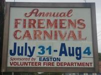 Easton Firemens Carnival